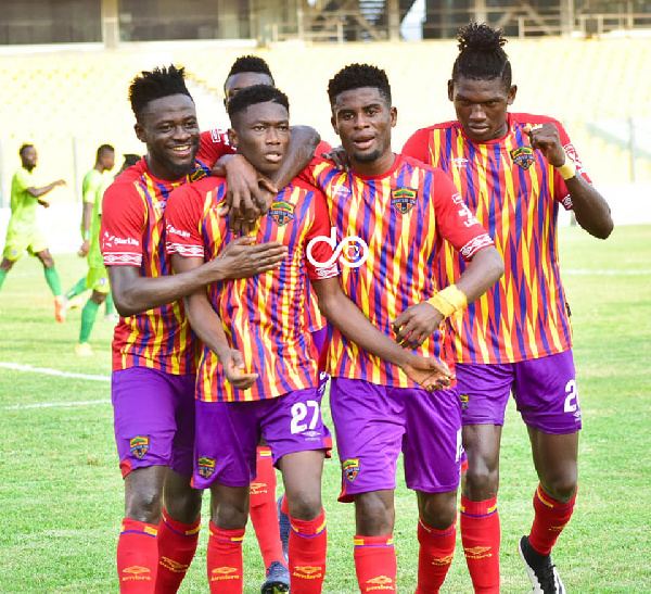 Hearts of Oak intensify training ahead of Berekum Chelsea showdown