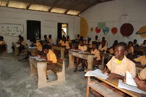 Basics school students. File photo