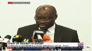 Minority Spokesperson on Finance, Cassiel Ato Forson
