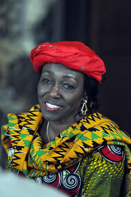 Konadu Rawlings Smile