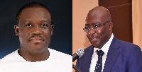 Samuel Nartey George and Dr Mahamudu Bawumia