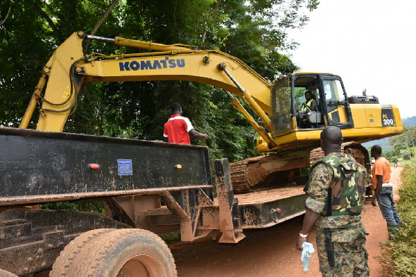 Ghana should ban excavators to fight galamsey - Environment Minister-designate
