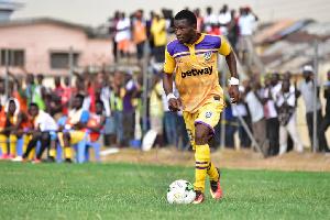Medeama SC attacker Isaac Agyenim Boateng