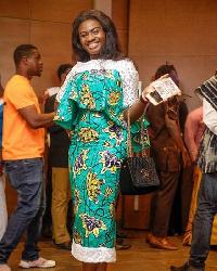 Ghanaian actress Martha Ankomah