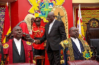President Akufo-Addo in suit