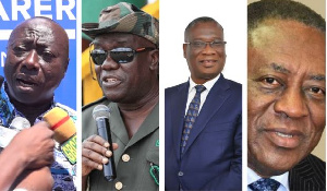 Some of the heads of public institutions President Akufo-Addo has asked to retire