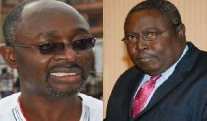Alfred Woyome and Martin Amidu