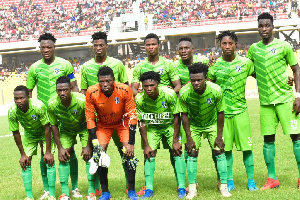 Bechem United players
