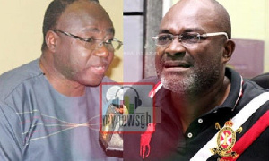 Suspended PPA Boss, A.B Adjei and Assin Central MP, Kennedy Agyapong