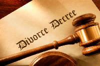 Library Photo: Divorce Decree