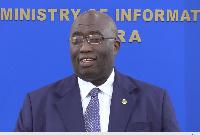 Minister for Railways Development Joe Ghartey