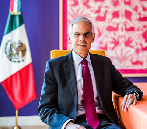 Julian Ventura is on a three-day high level visit to Ghana