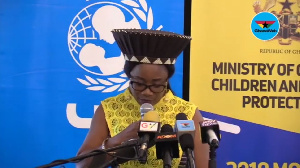 Minister for Gender, Child and Social Protection, Cynthia Mamle Morrision
