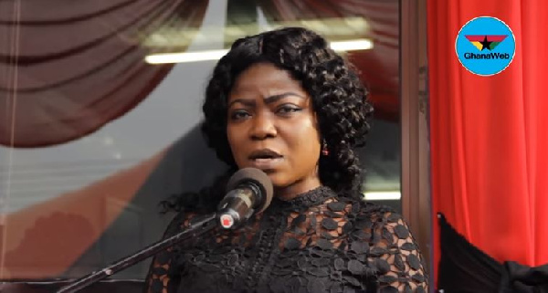 Ibrahim Mahama was more than a vice president - Vim Lady fires NDC