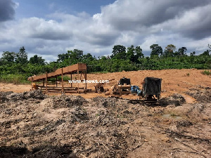 Galamsey has led to massive environmental degradation