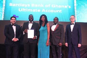 Barclays Bank Ghana Wins The Asian Banker Award 1