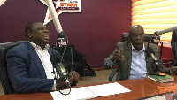 CEO Raymond Ackah (right) and COO Harry Yamson (left) of Ishmael Yamson and Associates