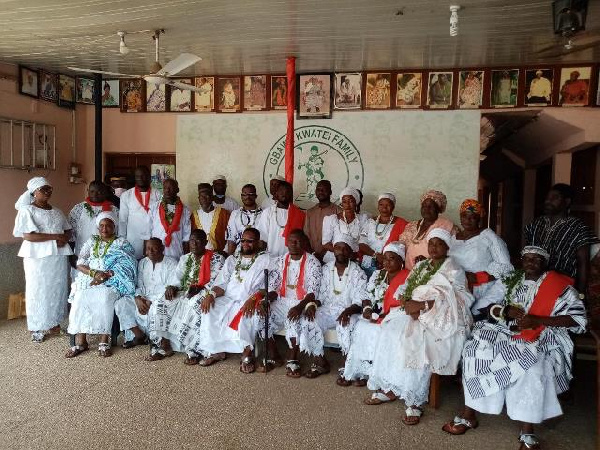 Group photo of Gbawe's new Muslim Chiefs and Traditional leaders