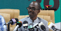 Asiedu Nketia, General Secretary for the NDC addressed the media at the party's headquarters