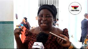 Leader of the Ghana Freedom Party,  Madam Akua Donkor