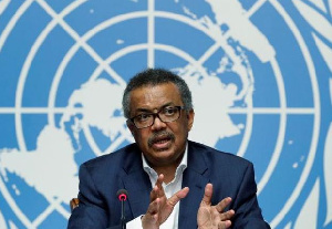 Dr. Tedros Adhanom Ghebreyesus, Director-General of the World Health Organisation