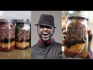 Reggie Rockstone is the' inventor' of 'Jar waakye'