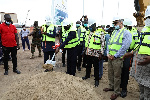 Veep cuts sod for commencement of additional works on dry bulk terminal at port of Takoradi