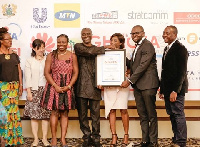 The company was honoured in recognition of its commitment to building thriving communities in Ghana