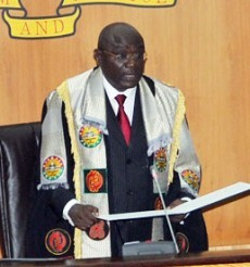 Doe Adjaho Speaker Of Parliament