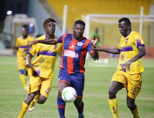 Legon Cities coach impressed with debutant Asamoah Gyan