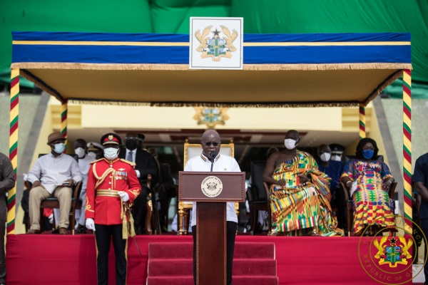 FULL TEXT: Akufo-Addo's 64th Independence Day Speech