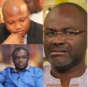 Some politicians have sympathized with the National Security Minister, Albert Kan Dapaah