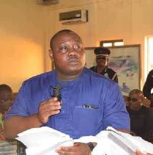 Keta Municipal Chief Executive (MCE), Mr Godwin Yao Effah Edudzi
