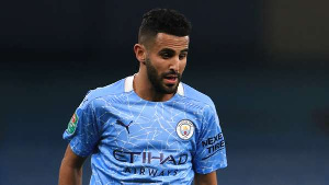 Manchester City winger, Riyad Mahrez