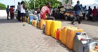 Fuel shortage in Ghana