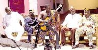 Kumi Guitar with the great men of highlife
