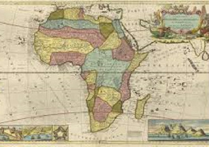 Herman Moll's map of Africa