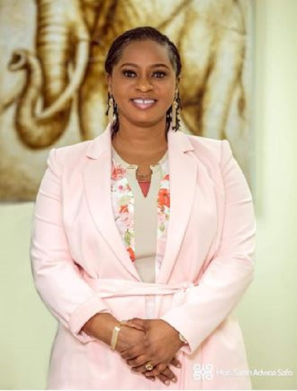 Adwoa Safo's strategy yields results as Dome Kwabenya tops EC's provisional new voter register