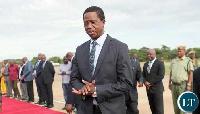 Edgar Lungu, President of Zambia