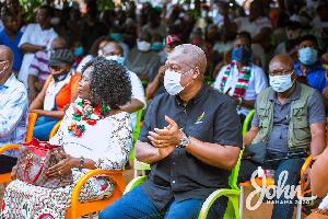 John Dramani Mahama, flagbearer of NDC
