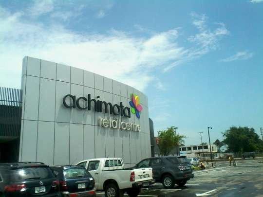 The new Achimota Retail Centre