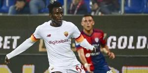 Afena Gyan has made his AS Roma debut