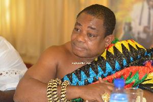 The President of the GNCC, Nana Dr. Appiagyei Dankawoso I
