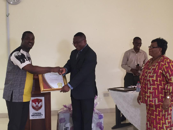 Central University awards lecturers