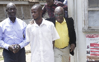 Charles Antwi en route to a Psychiatric hospital