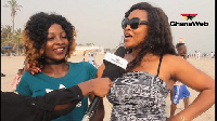 Excited patrons of the Labadi beach shared their experiences