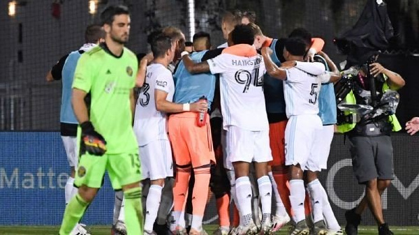 Loons eliminates Columbus in penalty