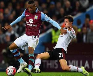 Ghanaian striker Jordan Ayew