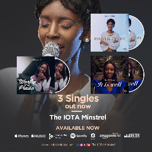 Jemimah Owusu Ansah is dubbed the IOTA Minstrel