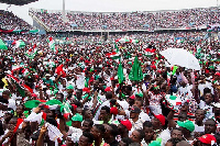 A snapshot of an NDC rally